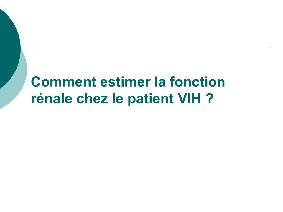 EU : HIV 3 ème cause dIRCT chez les 20-64 ans (afro-américain) En France ?