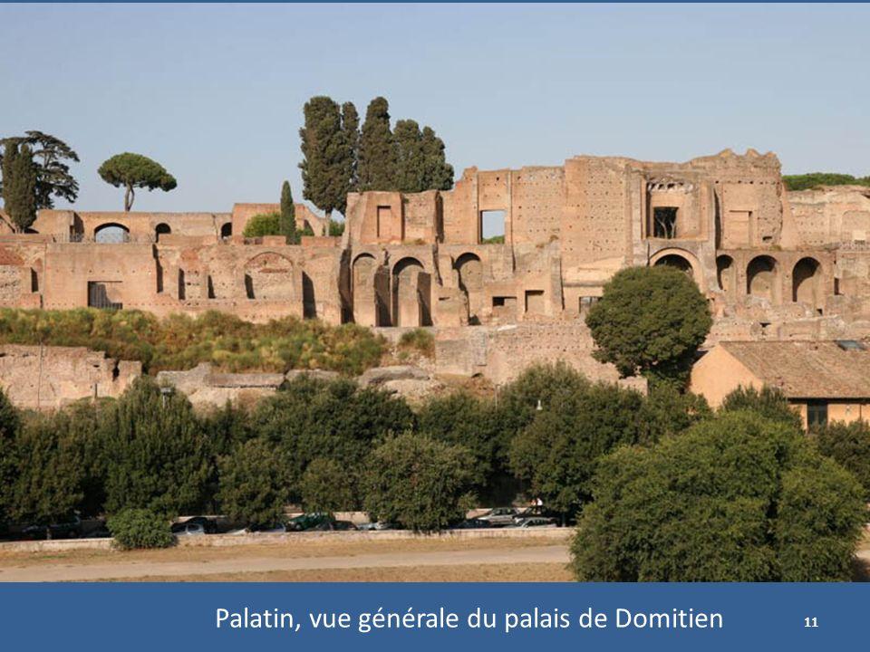 11 Palatin, vue générale du palais de Domitien