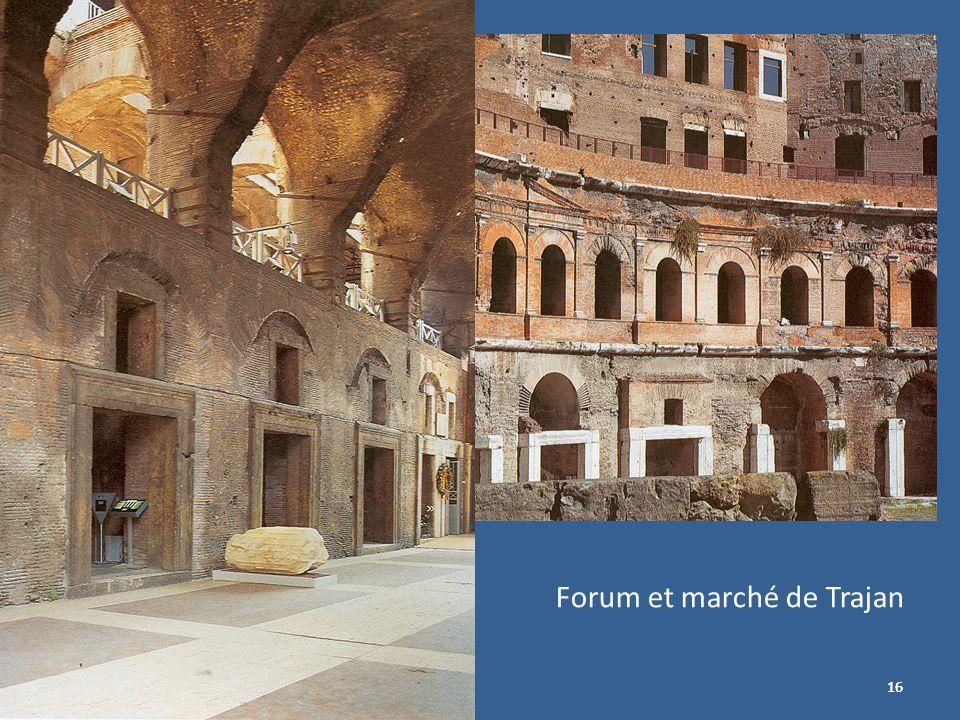 16 Forum et marché de Trajan