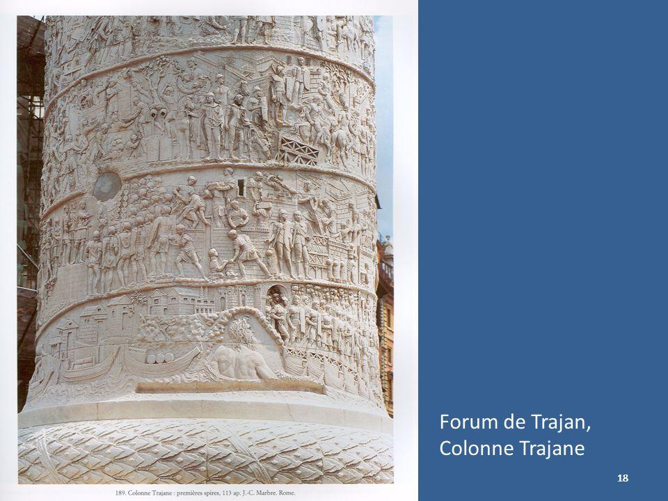 18 Forum de Trajan, Colonne Trajane