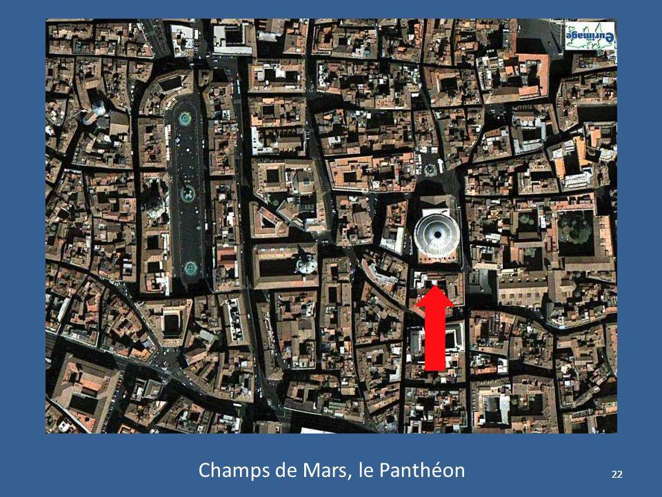 22 Champs de Mars, le Panthéon