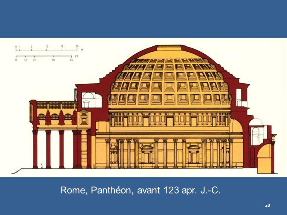 28 Rome, Panthéon, avant 123 apr. J.-C.