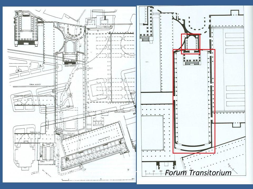 555 Storia, fig. 116 Forums Impériaux, Forum TransitoriumForum Transitorium