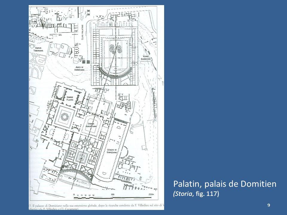 999 Palatin, palais de Domitien (Storia, fig. 117)