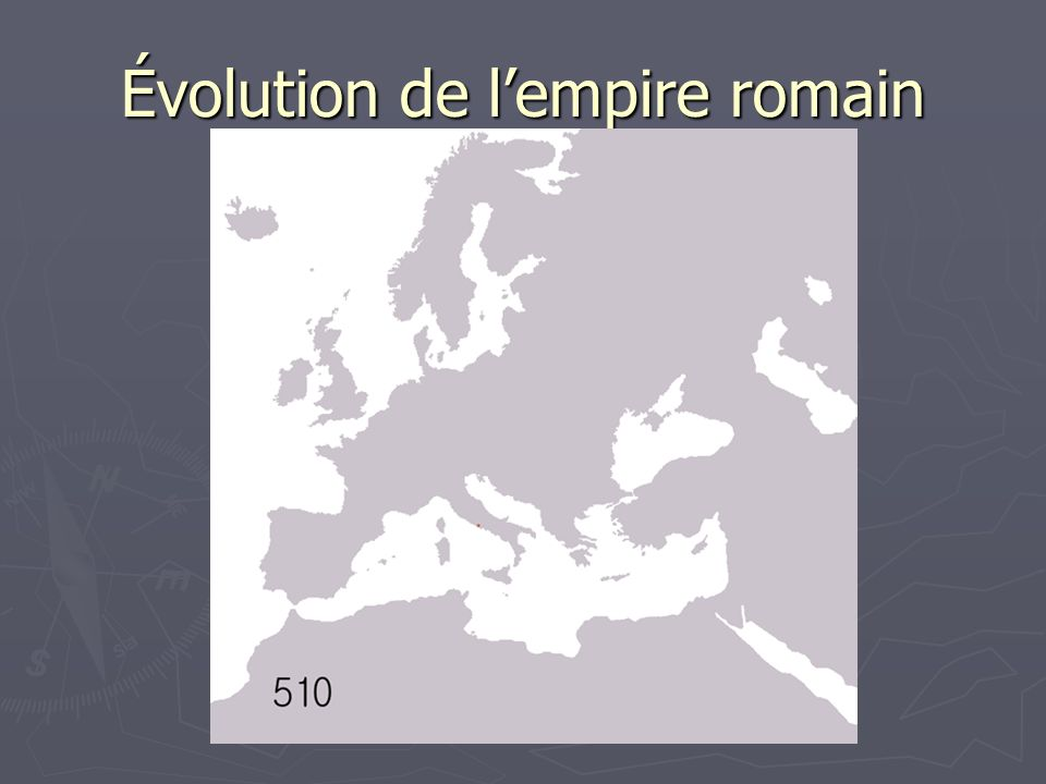 Évolution de lempire romain