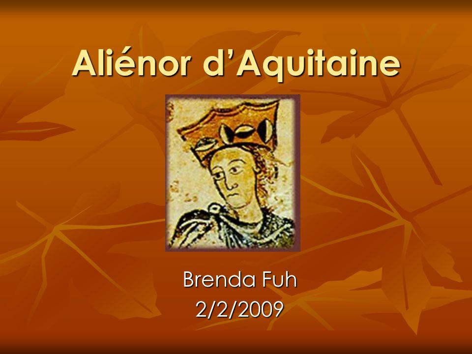 Aliénor dAquitaine Brenda Fuh 2/2/2009