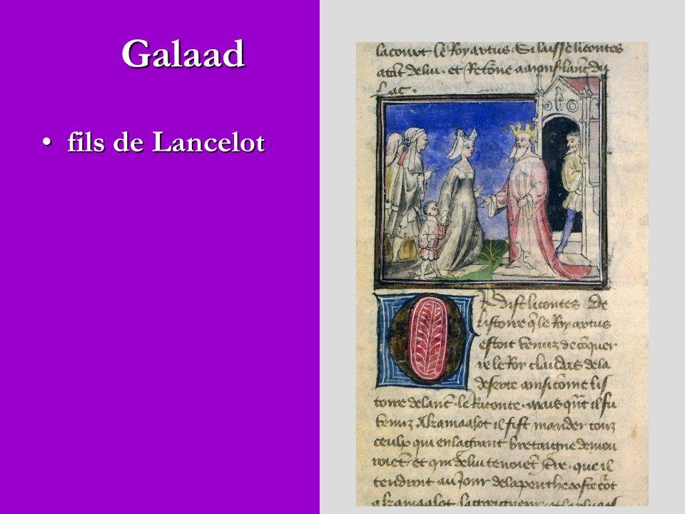 Galaad fils de Lancelotfils de Lancelot