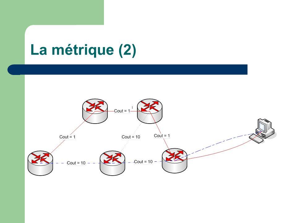 La métrique (2)