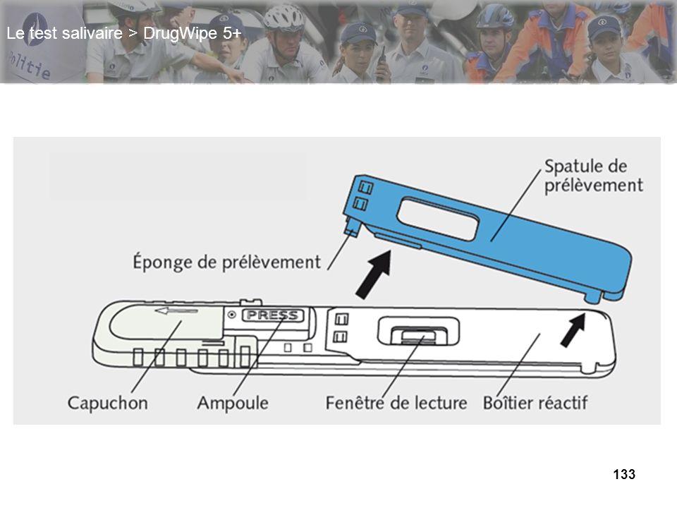 133 Le test salivaire > DrugWipe 5+