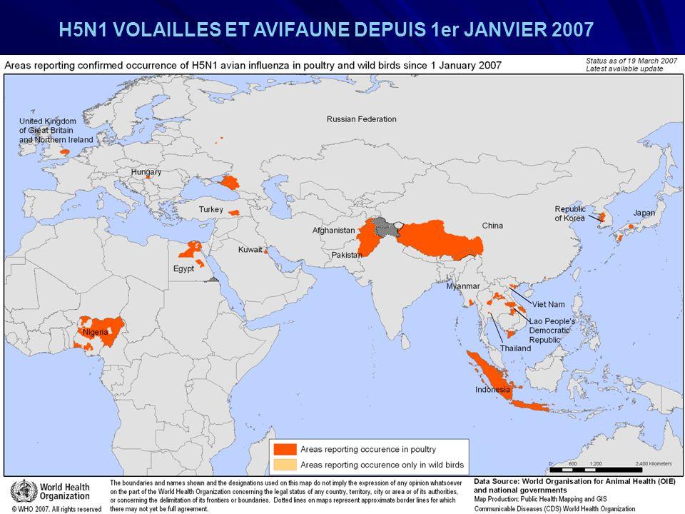 URML Ile-de-France 12 H5N1 VOLAILLES ET AVIFAUNE DEPUIS 1er JANVIER 2007