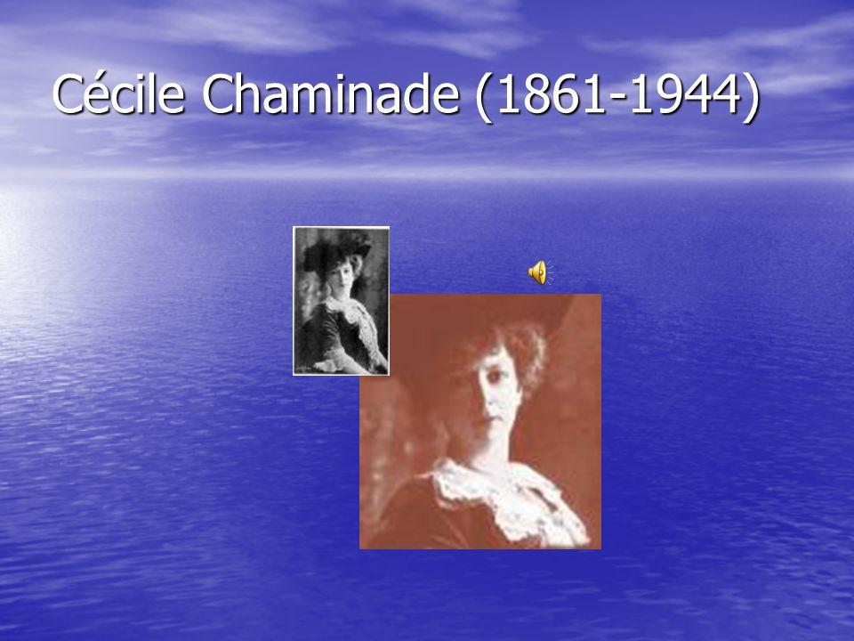 Cécile Chaminade (1861-1944)