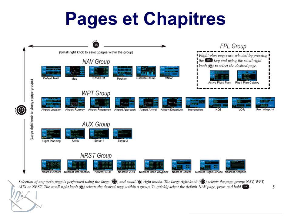 Pages et Chapitres