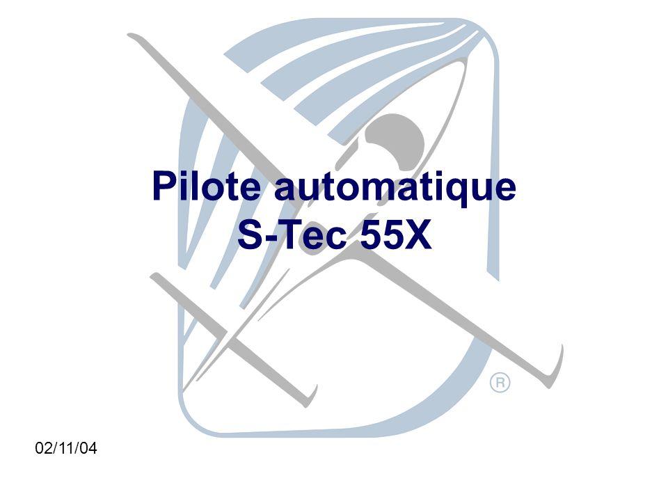Pilote automatique S-Tec 55X 02/11/04