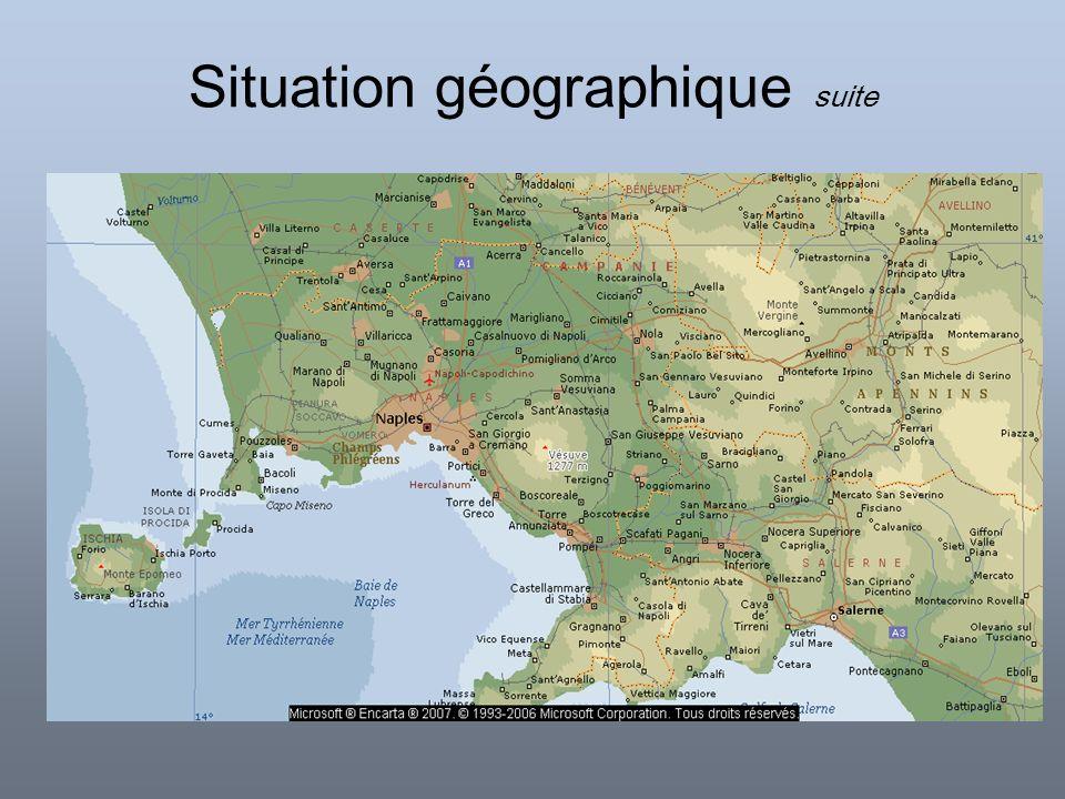 Situation géographique carte du relief