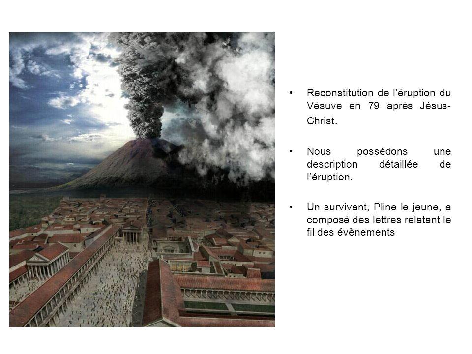 Pompéi reste ensevelie sous les cendres durant près de 1700 ans.