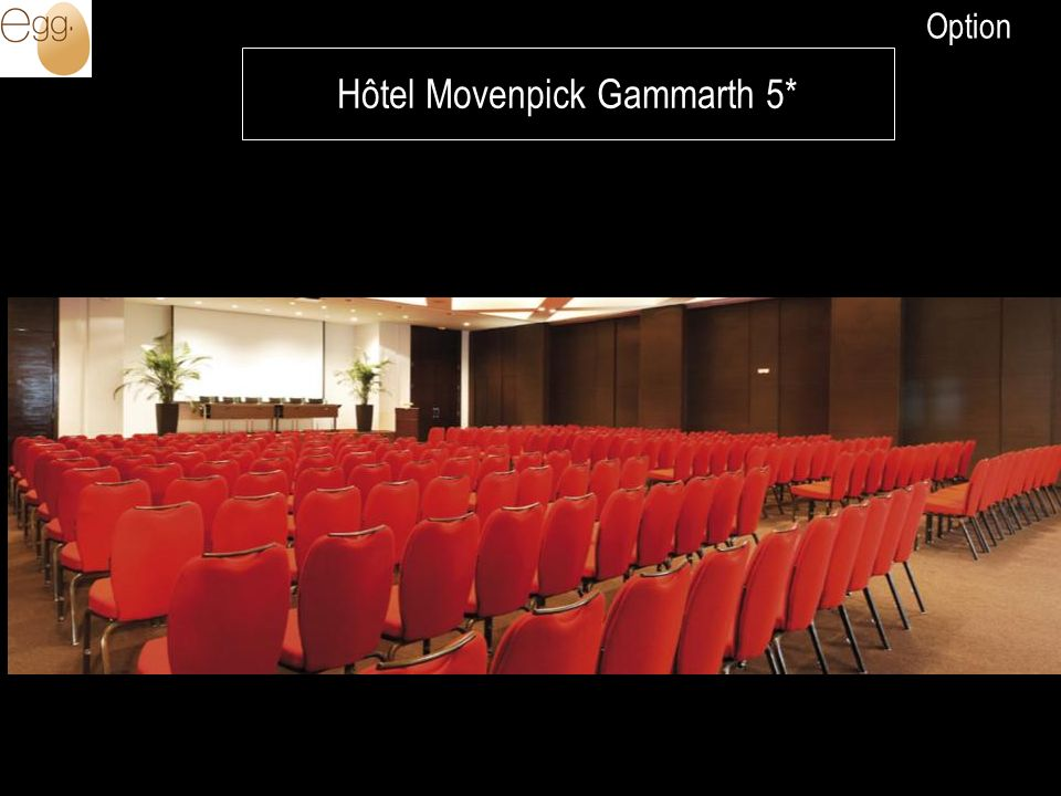 Hôtel Movenpick Gammarth 5* Option