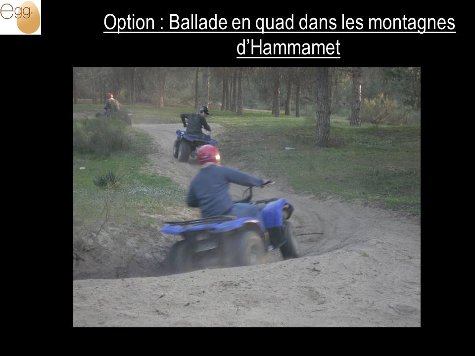 Option : Ballade en quad dans les montagnes dHammamet