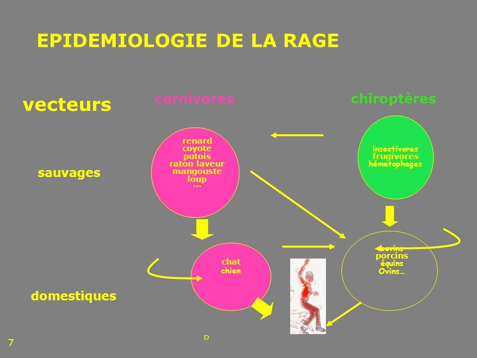 VACCINATION ANTIRABIQUE PREVENTIVE ET SEROPOSITIVITE Vaccination préventive avec 3 doses de vaccin HDCV, 13 enfants HIV + dont 8 avec tt antirétroviral, Suivi clinique et sérologie pdt 1 année (CD4/CD8, HIV1-RNA), Bilan : Pas daggravation de létat clinique, Pas de modification significative du tx des lymphocytes et de la charge virale.