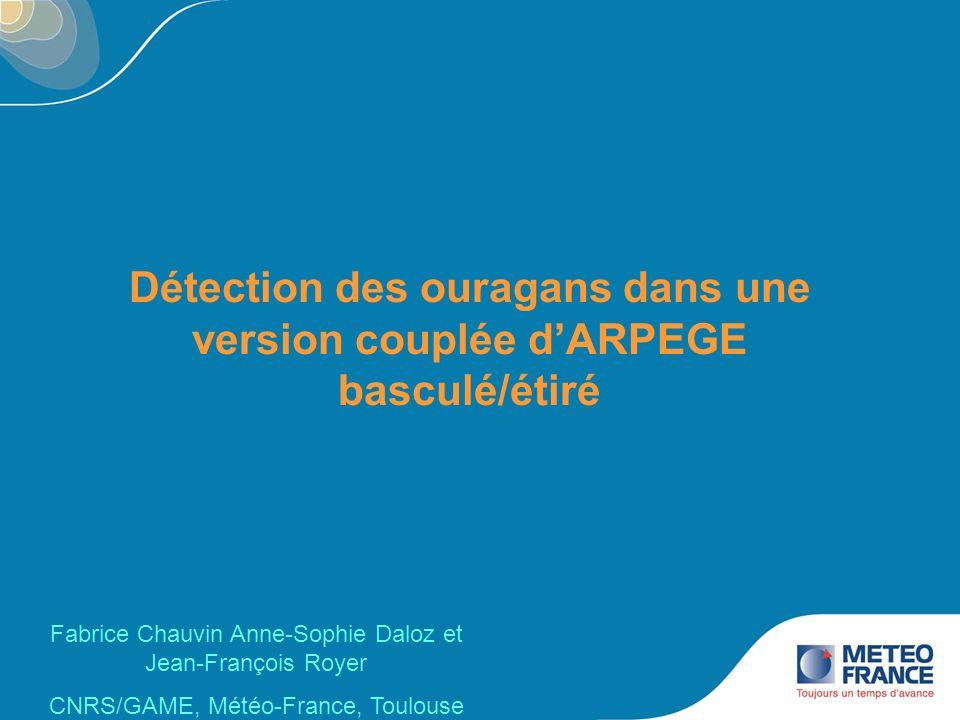 Journée Météo-France/Mercator Océan, 14 juin 2010 12 Trajectoires des systèmes dans CNS (13 ans) 209 systèmes VOR=14.e -5 s -1 WI=15 ms -1 TA=1 °C DT=-2 °C DW=5 ms -1