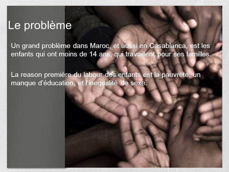 44 La famille et la vie en Casablanca La vie socialé pour les gens de Maroc est concentré sur la maison et la famille. Le gouvernement voudrait modern