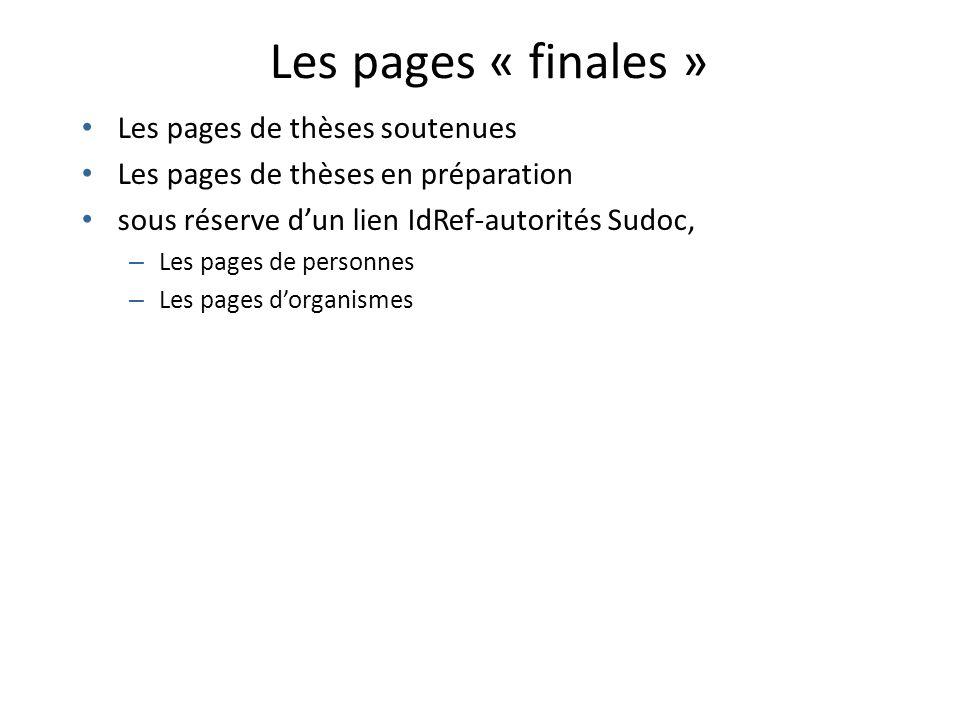 Quelles fonctionnalités demain dans theses.fr .