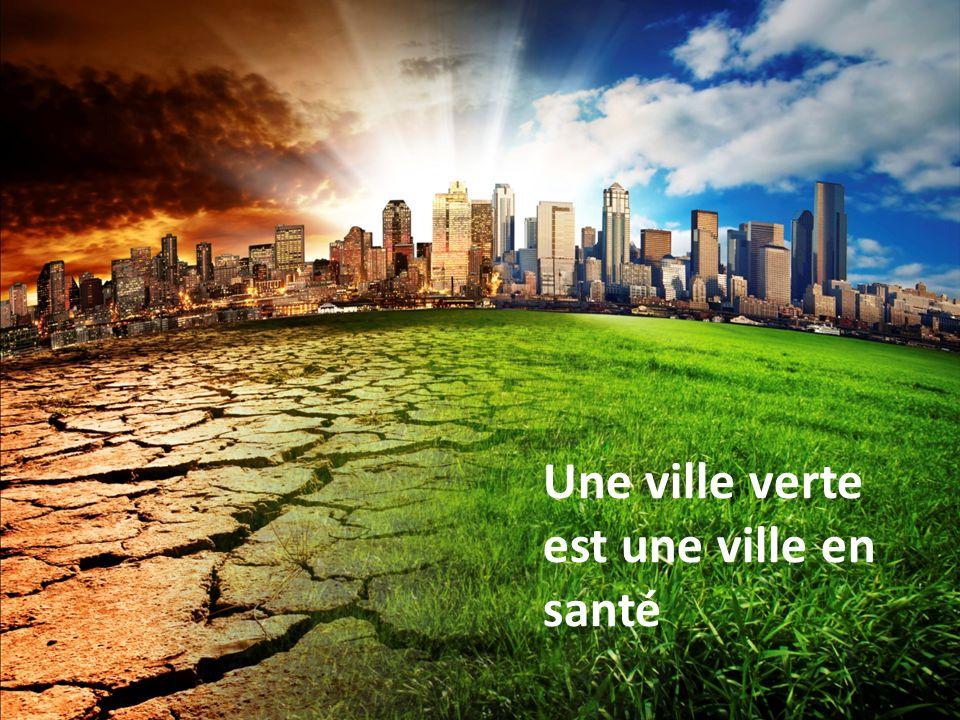 Une ville verte est une ville en santé Pierre Gosselin MD MPH Une ville verte est une ville en santé