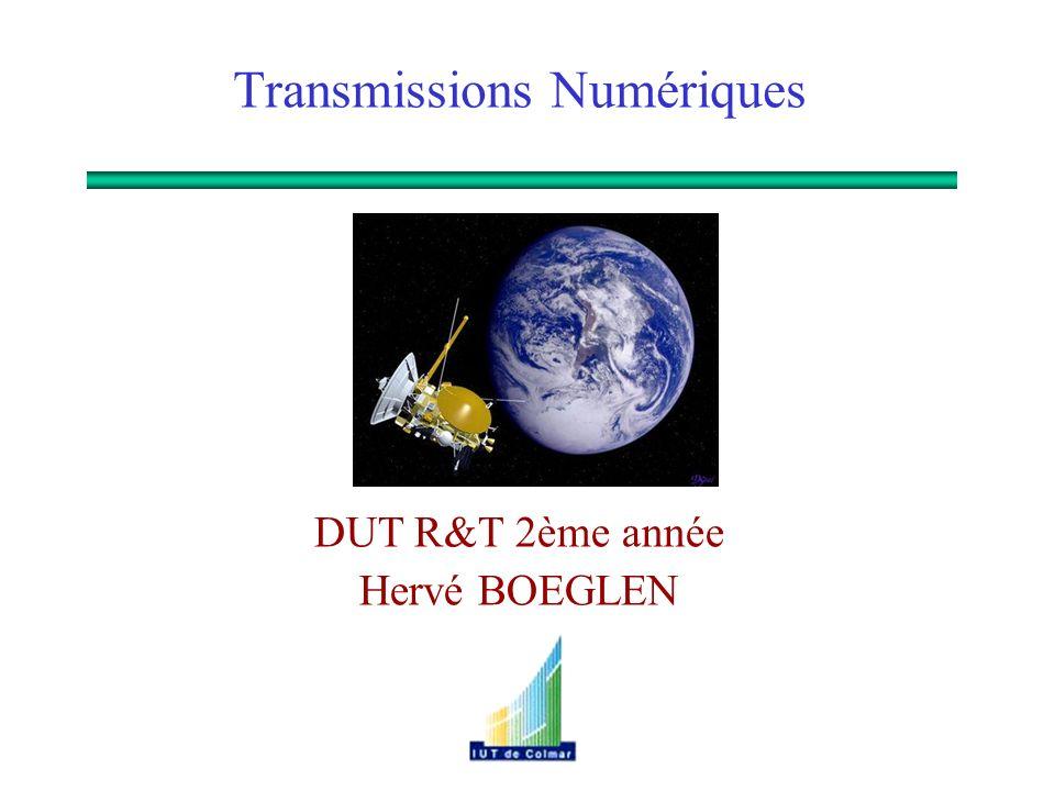 Hervé BOEGLEN DUT R&T 2ème année Transmissions Numériques