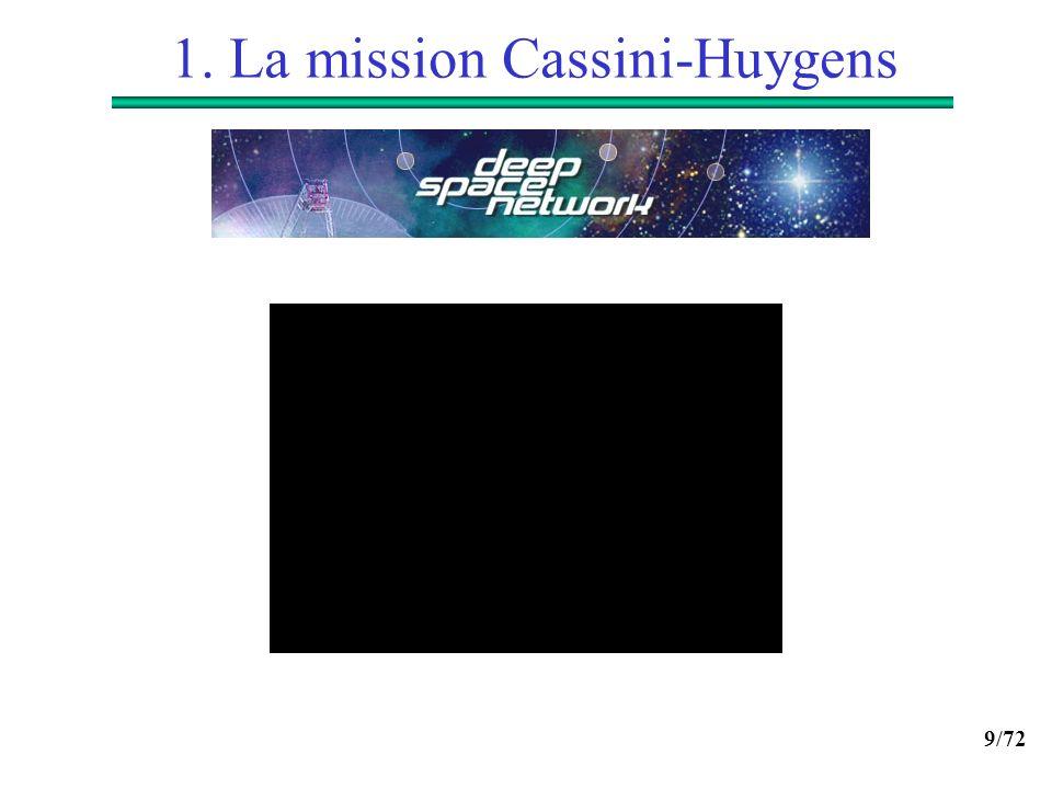 9/72 1. La mission Cassini-Huygens