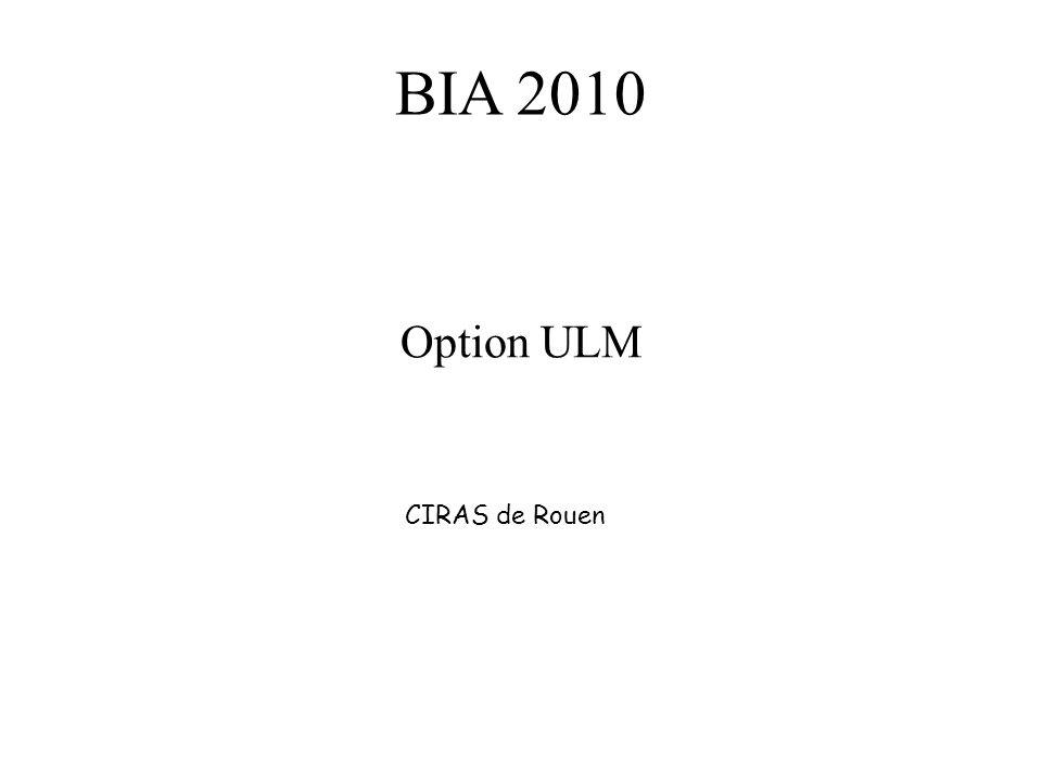 BIA 2010 Option ULM CIRAS de Rouen