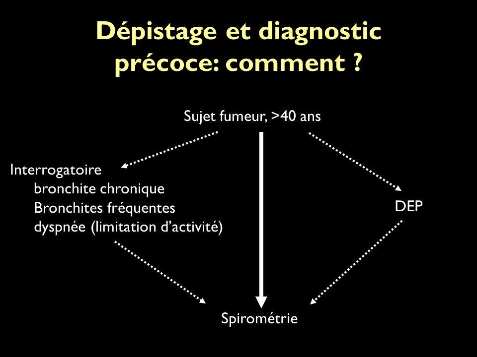 Dépistage et diagnostic précoce: comment .
