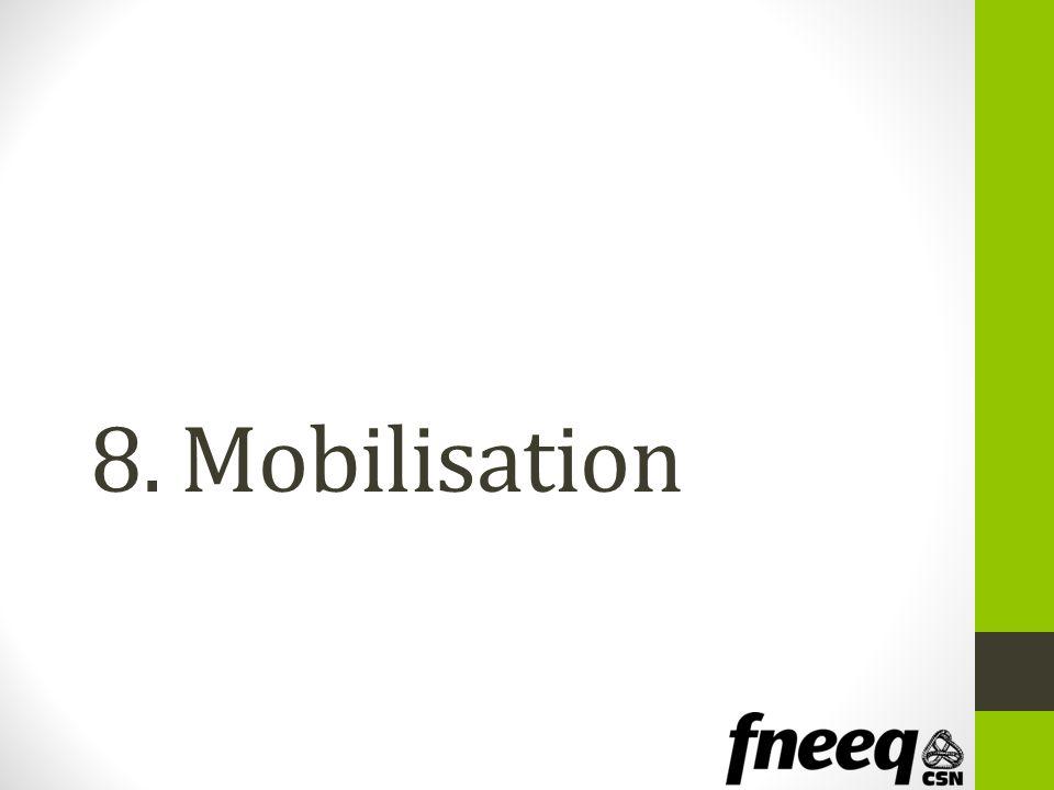 8. Mobilisation