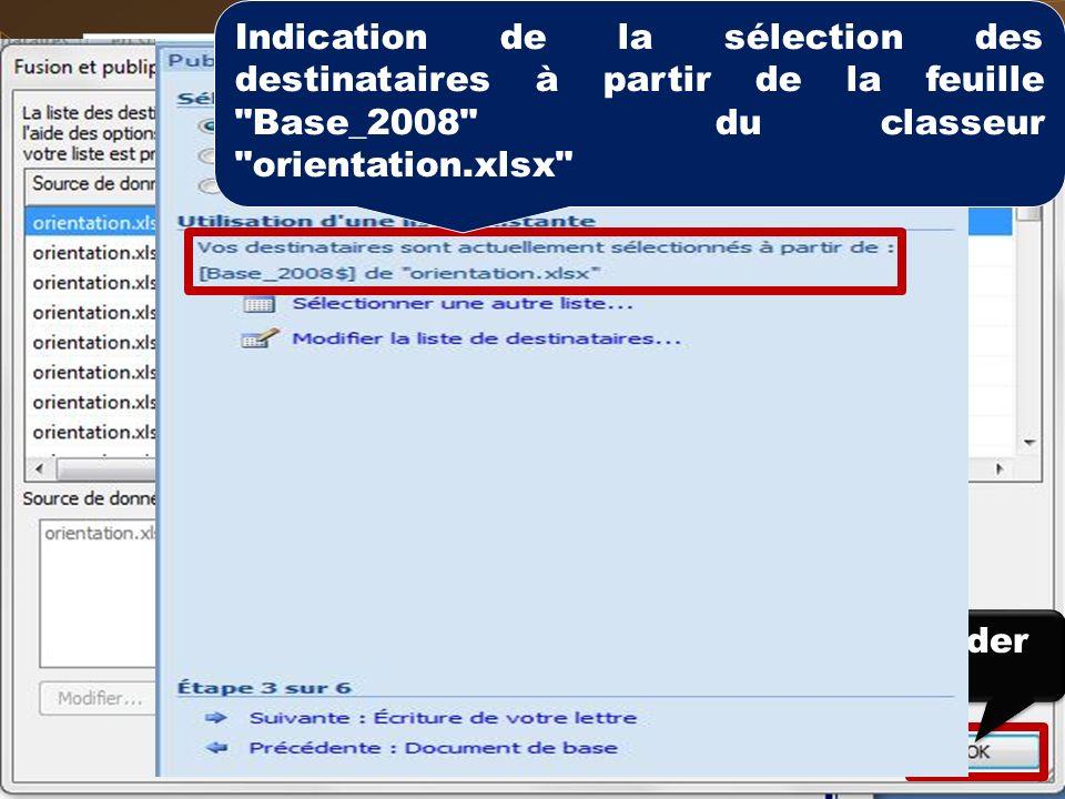 Exemple Lancer lapplication Word Exécuter le document suivant Cliquer sur longlet
