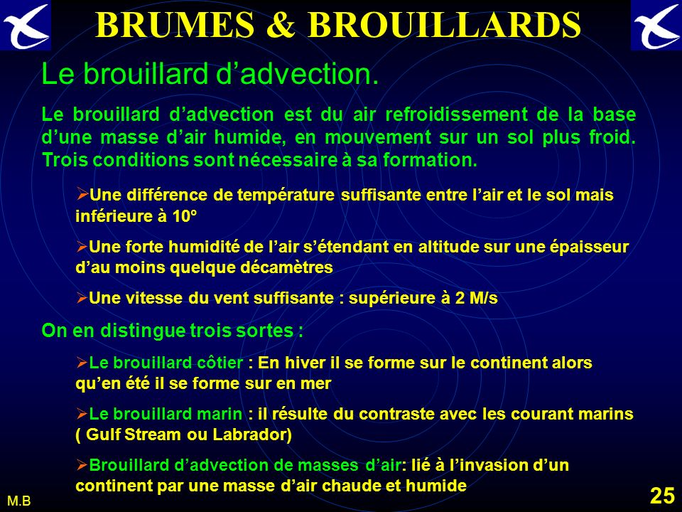 24 M.B BRUMES & BROUILLARDS
