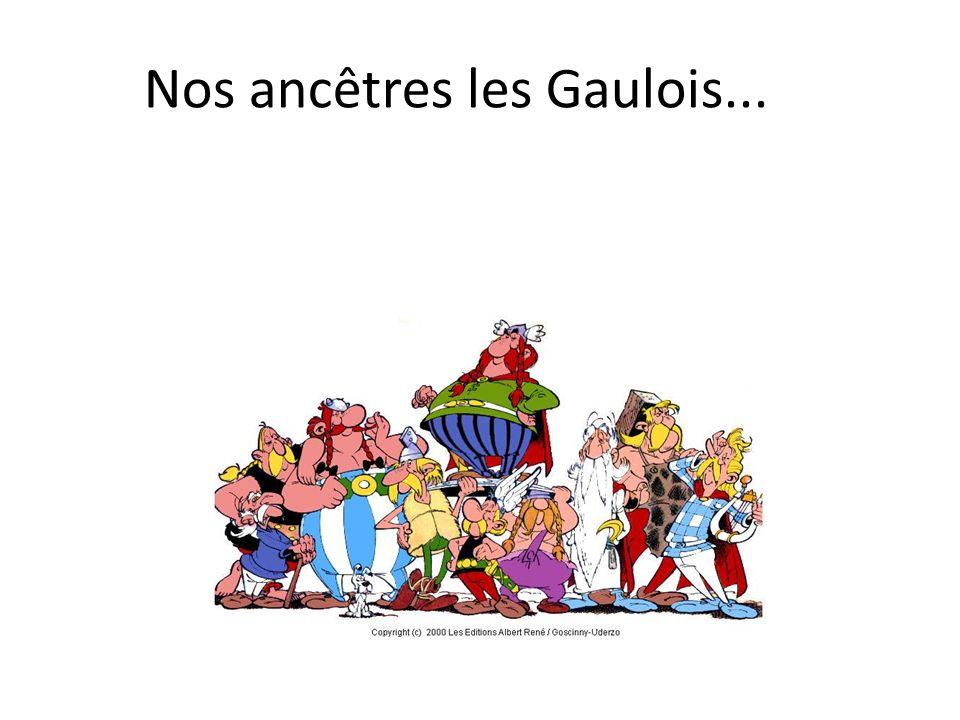 Nos ancêtres les Gaulois...