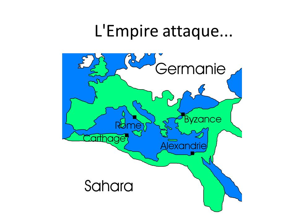 L'Empire attaque...