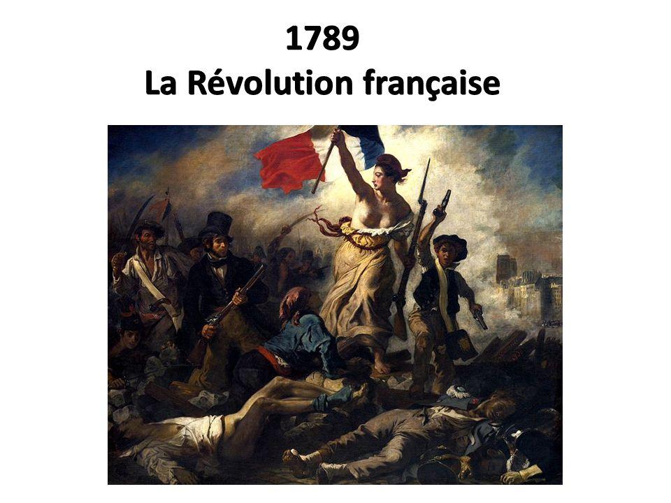 1789 La Révolution française