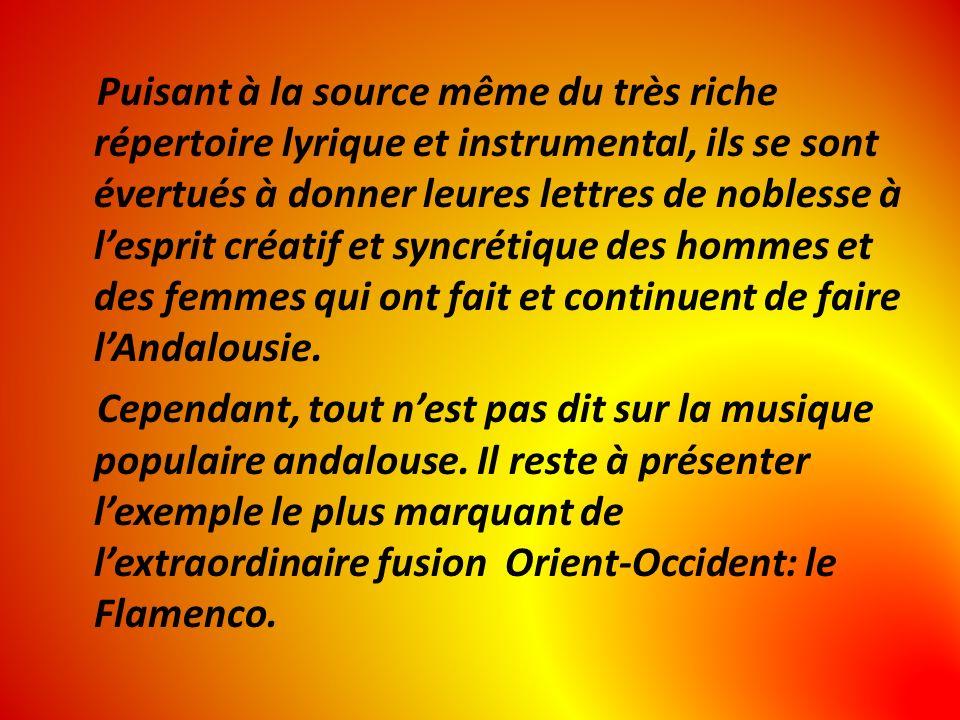 Puisant à la source même du très riche répertoire lyrique et instrumental, ils se sont évertués à donner leures lettres de noblesse à lesprit créatif