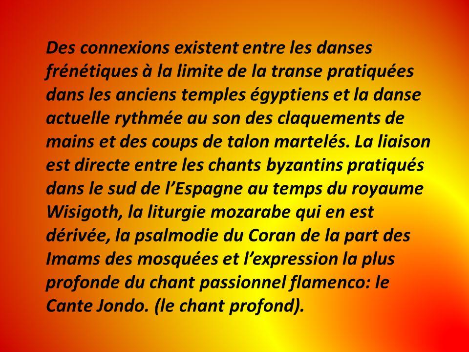 Des connexions existent entre les danses frénétiques à la limite de la transe pratiquées dans les anciens temples égyptiens et la danse actuelle rythm