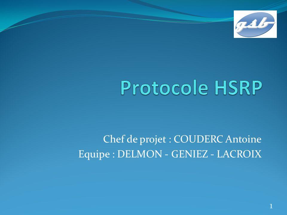 Quest ce que le protocole HSRP .
