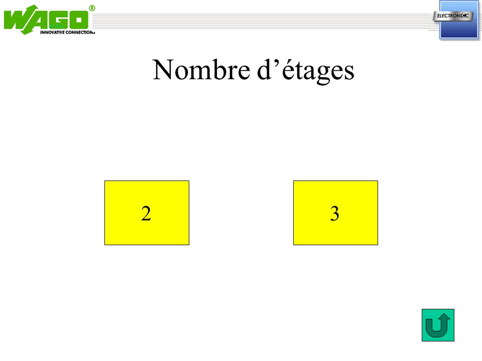 ETAGE 1 NONOUI Sectionnement sur chaque voie