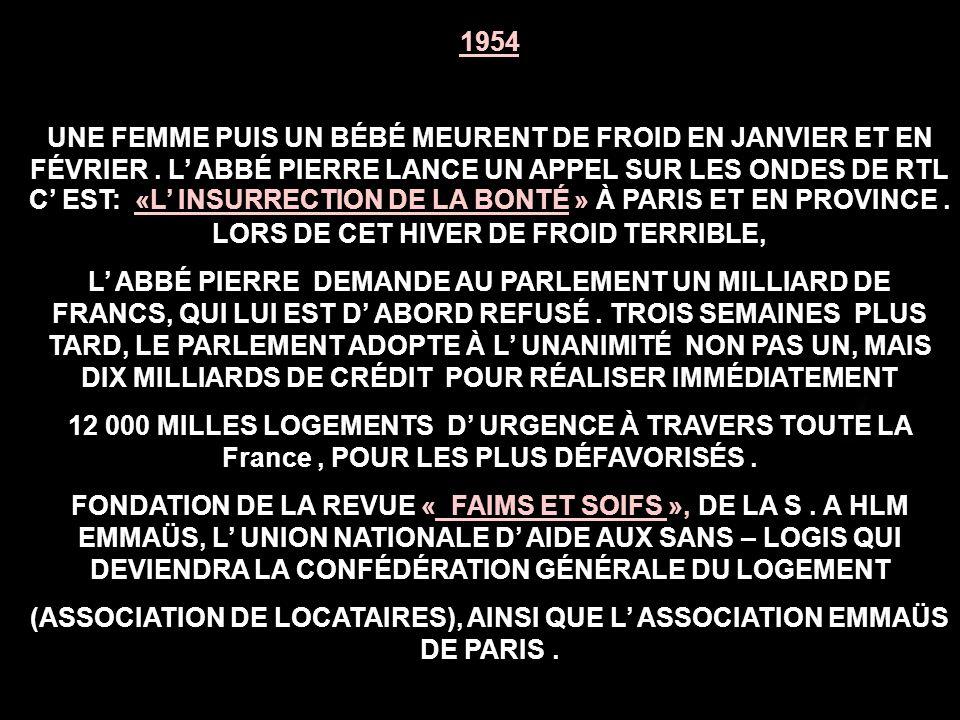 1945-1951 DÉPUTÉ DE MEURTHE ET MOSELLE, PRÉSIDENT DU COMITÉ EXÉCUTIF DU MOUVEMENT UNIVERSEL POUR UNE CONFÉDÉRATION MONDIALE.