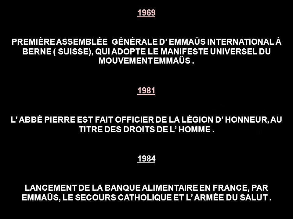 1954 UNE FEMME PUIS UN BÉBÉ MEURENT DE FROID EN JANVIER ET EN FÉVRIER.
