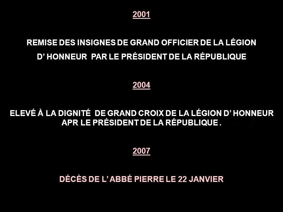 1985 CONSTITUTION D EMMAÜS FRANCE QUI RASSEMBLE TOUTES LES COMPOSANTES D EMMAÜS EN FRANCE.