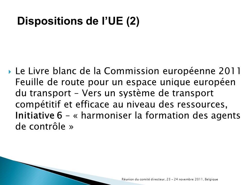 Le Livre blanc de la Commission européenne 2011 Feuille de route pour un espace unique européen du transport – Vers un système de transport compétitif