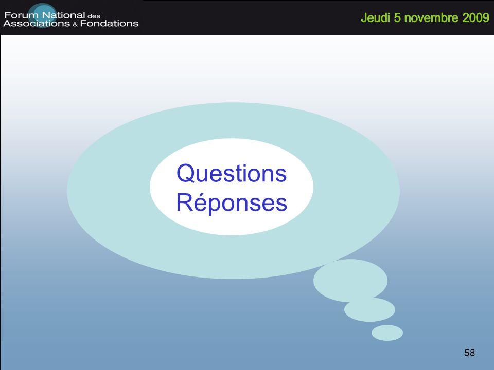 58 Questions Réponses