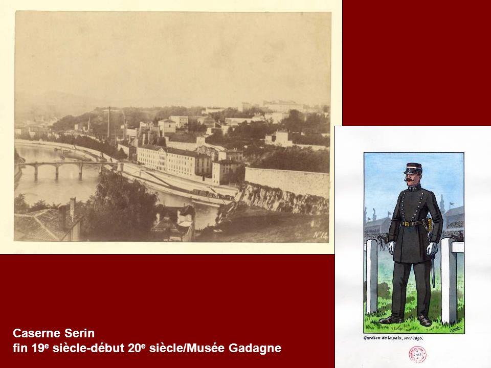 Caserne Serin fin 19 e siècle-début 20 e siècle/Musée Gadagne