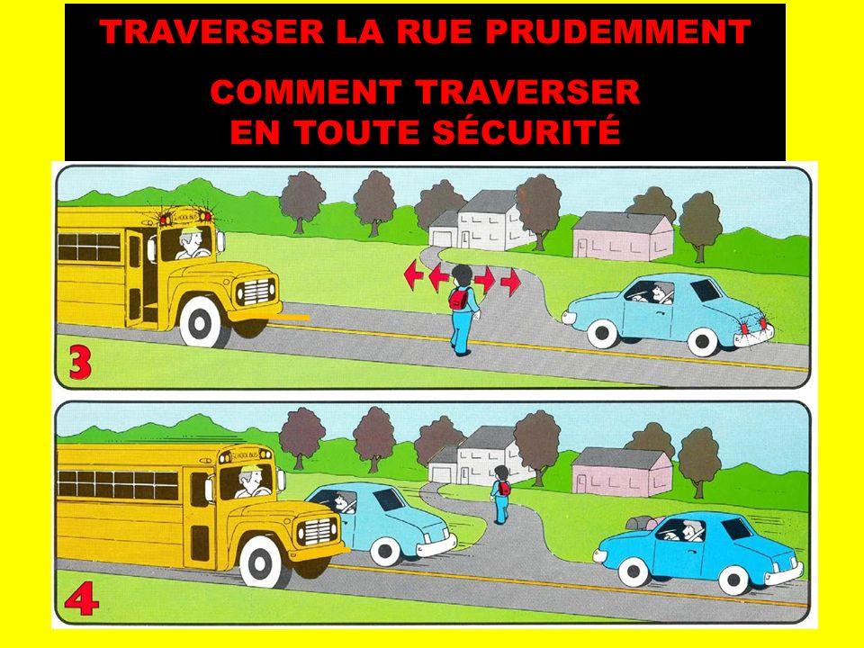 CROSSING THE ROAD SAFELY !! TRAVERSER LA RUE PRUDEMMENT COMMENT TRAVERSER EN TOUTE SÉCURITÉ