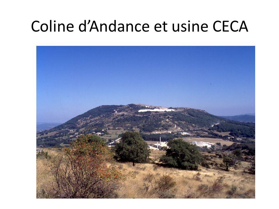 Coline dAndance et usine CECA