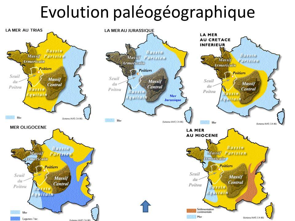 Evolution paléogéographique