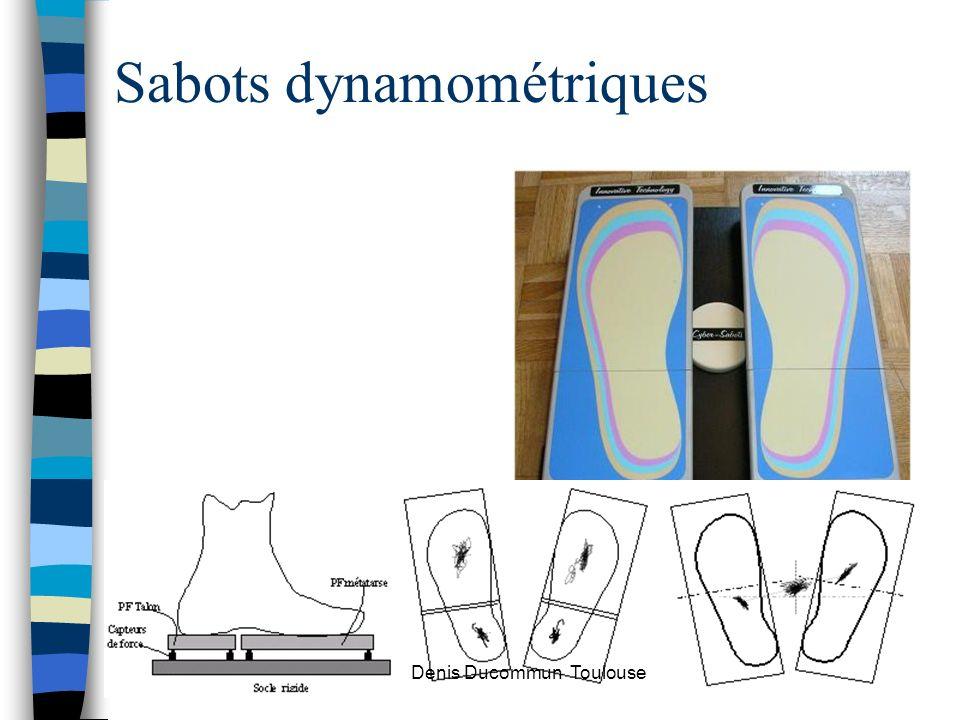 Sabots dynamométriques Denis Ducommun Toulouse